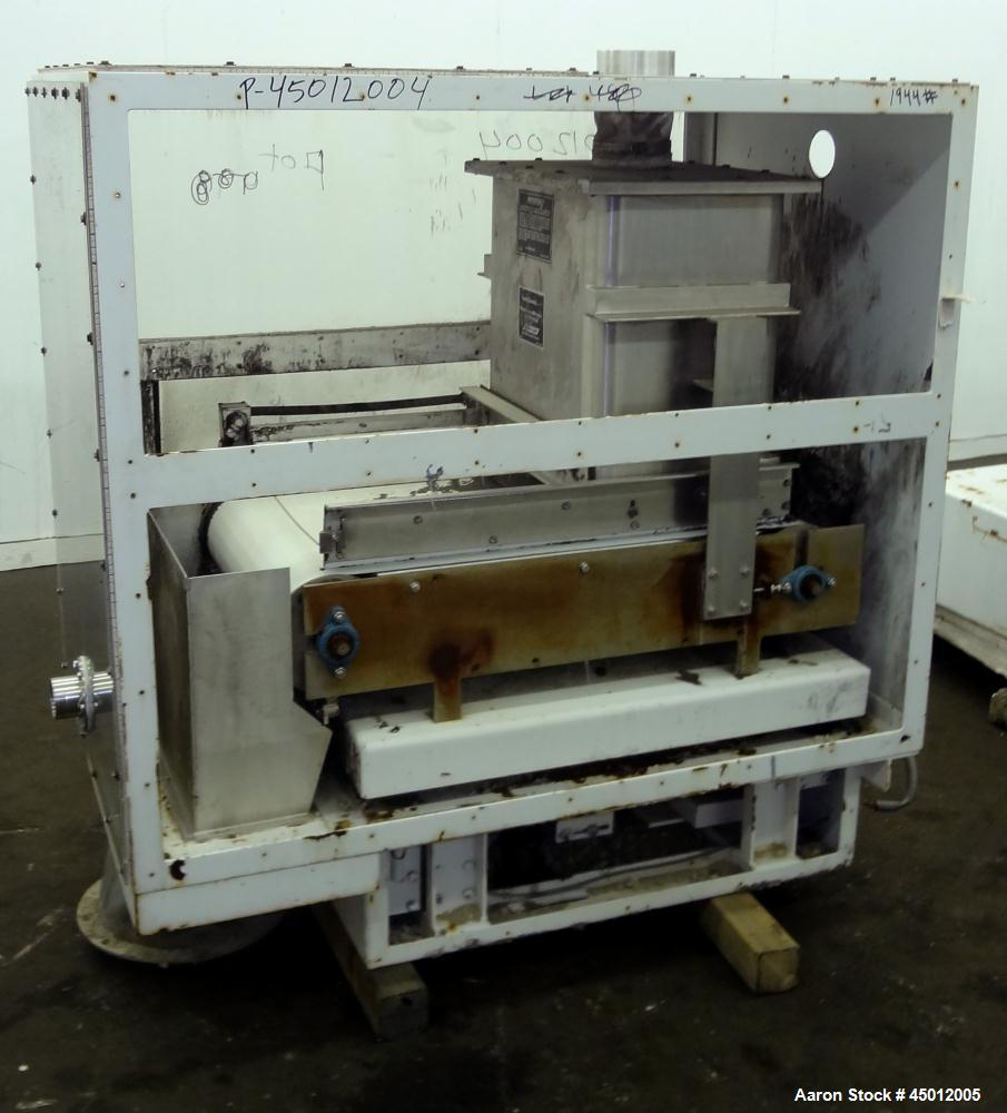 Used- Acrison Weigh Belt Feeder, Model 402XB-12000/100/-150