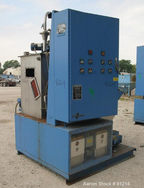 USED: Acrison Polymair 500 polyelectrolyte processing system, model 500-100-400, consisting of (1) Acrison dry polymer volum...
