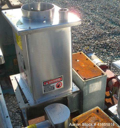 Used- Stainless Steel Acrison Weight-Loss Differential Weigh Feeder, Model A405-125-75-BDF-1-DD