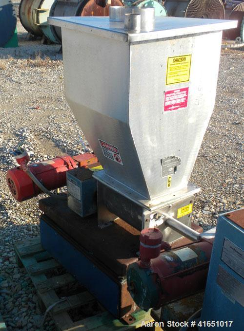 Used- Stainless Steel Acrison Weight-Loss Differential Weigh Feeder, Model A405-800-80-105X-H