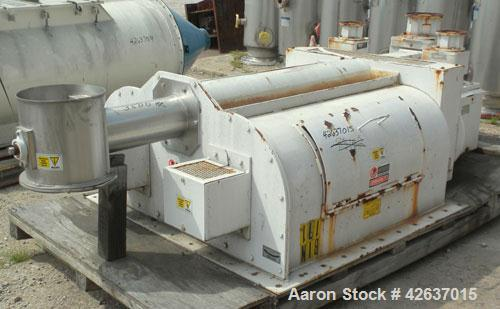 Used- Acrison Multiple Auger/Agitator Bin Discharger Feeder, Model BDF4-R/3. Rated approximately (0.58) to 3400 cubic feet p...