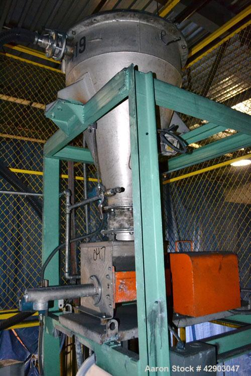 Used-Acrison Volumetric Feeder, Stainless Steel.