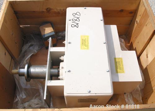 USED: Acrison feeder geardrive box unit.