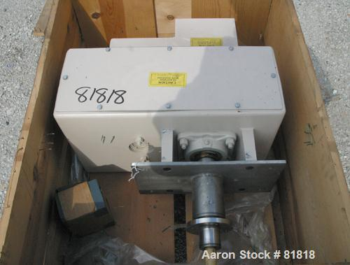 USED: Acrison feeder geardrive box unit.