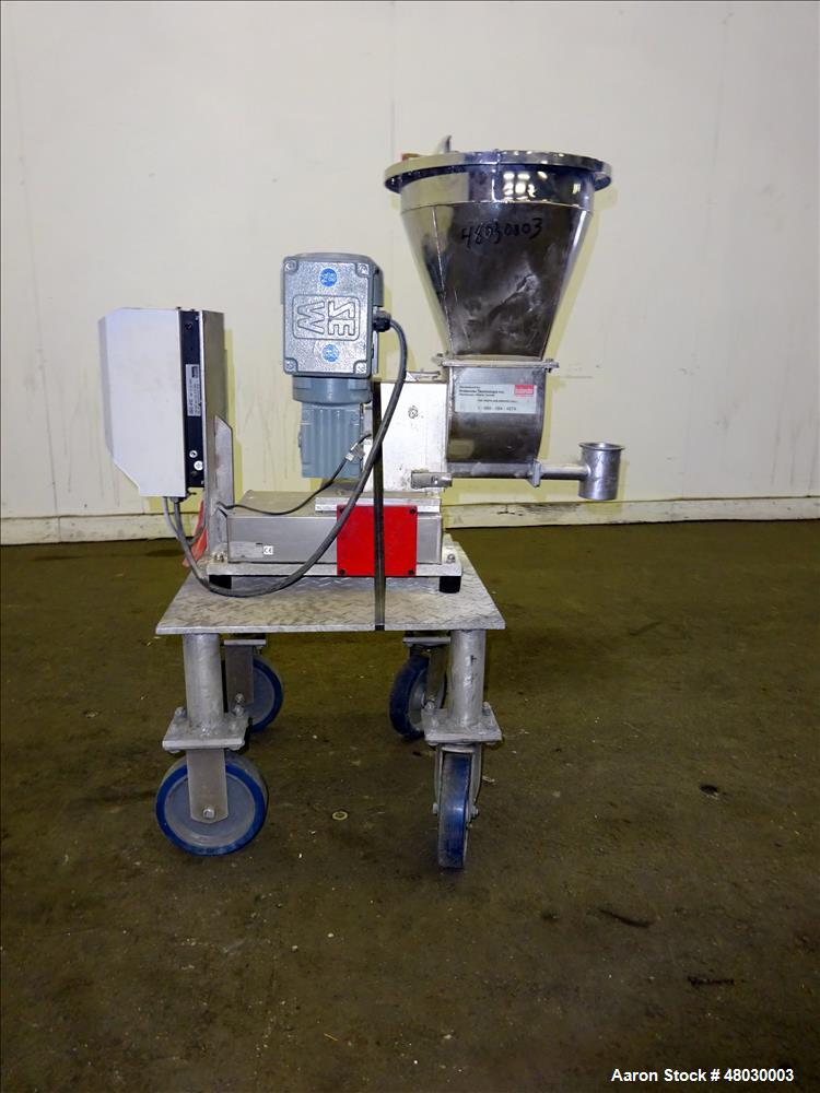 Used- Brabender Technologie Inc. Loss-In-Weight Twin Screw Stirring Feeder, Mode