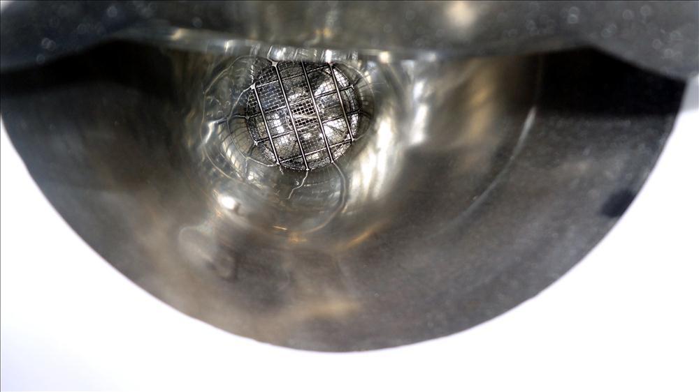 Used- Stainless Steel De Dietrich Powder Pump, Model PTS-150-N