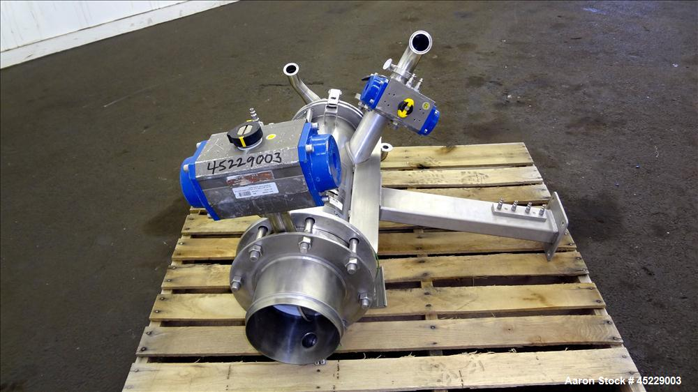 Used- Stainless Steel De Dietrich Powder Pump, Model PTS-200-NI