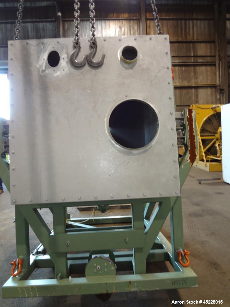 Used- Gericke Gravimetric Loss-in-Weight Feeder, Model DIW-141-2000, 304 Stainless Steel. Consisting of (1) Gericke model GA...