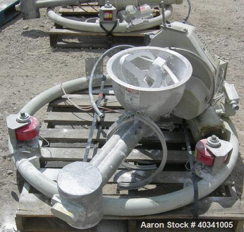 Used- K-Tron Modular Loss In Weight Feeder Sytem consisting of: (2) Model K2MLT60 feeders, 316 stainless steel. Twin screw d...
