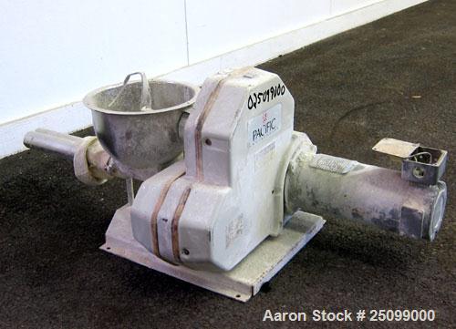 Used- K-Tron Volumetric Twin Screw Feeder, Model K2V-T35