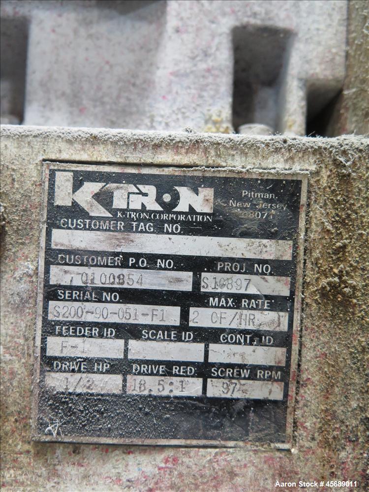 Used-K-tron Feeder