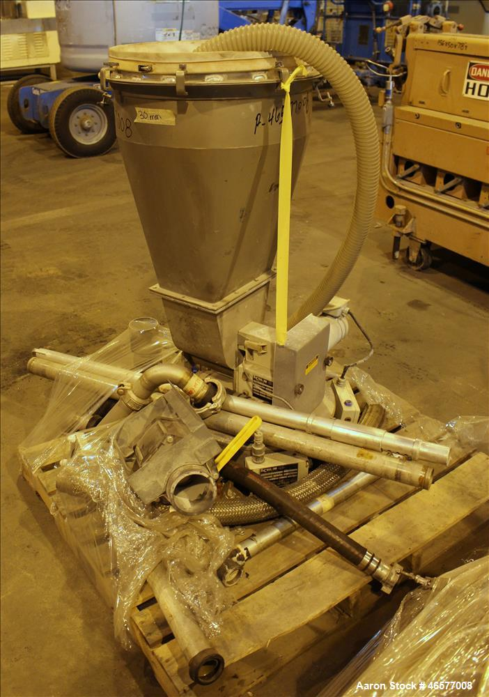 Used- K-Tron feeder with approximate 31mm screw