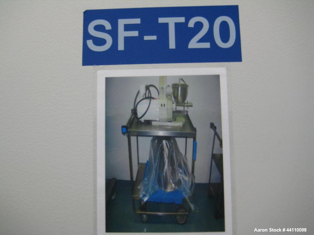 Used- Ktron Soder, Model K2VT20, Rate 4-50 PPH, Built 1996, w/ Reliance Electric Motor