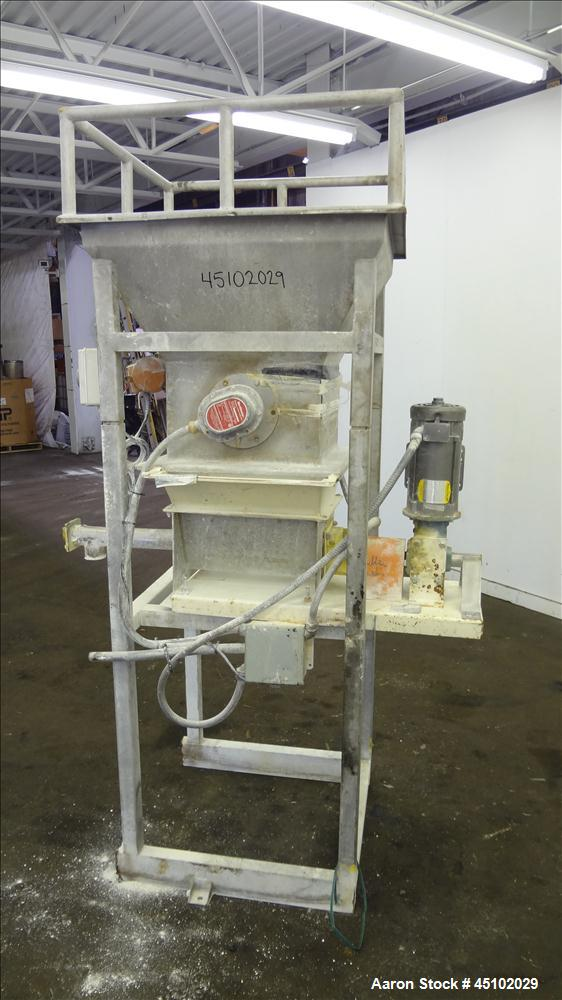 Used- Metalfab Volumetric Feeder