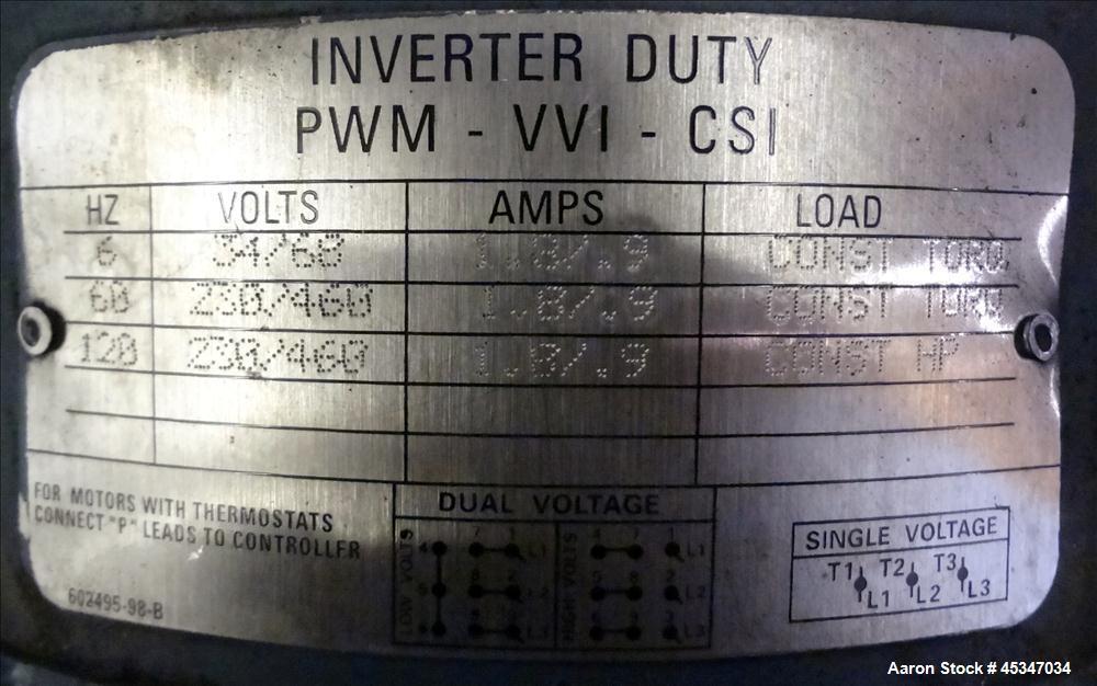 """Used- Stainless Steel Schenck Loss in WeightFeeder, Type MODLC-1G-2AX, (1) 1.5"""""""