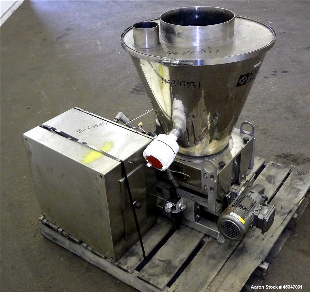 Used- Stainless Steel Schenk Powder Feeder System, Model MODLC-IV-2A