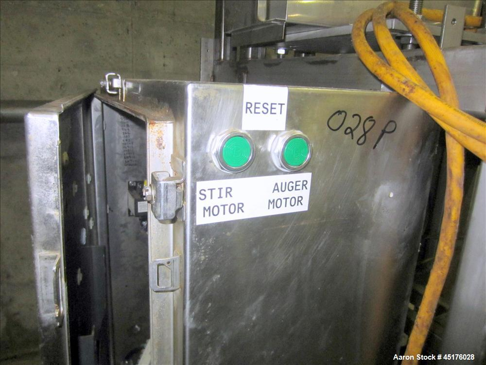 Used- Stainless Steel Taylor Products Volumetric Feeder