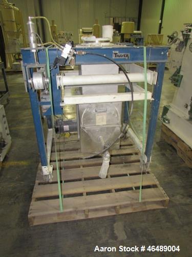 Used- Thayer Gravimetric Blending/Feeding System
