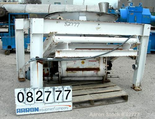 Used- Stainless Steel Thayer Scale Loss-In-Weight Feeder, Model LWF-4-2S-5000-30