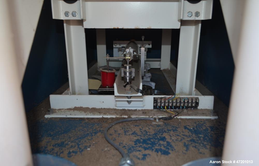 "Used- Thayer Scale M Series Low Density Weigh Belt Feeder, Model M-36T. Capacity 4000 pounds an hour. Approximate 36"" wide x..."