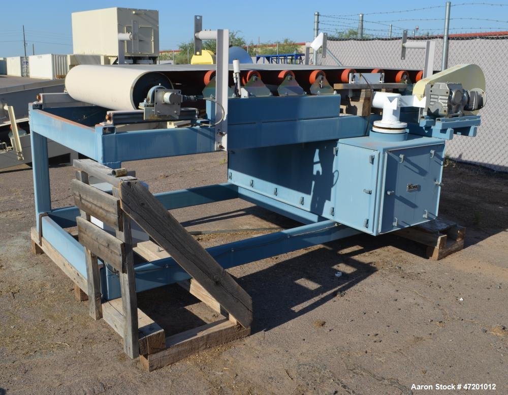 """Used- Thayer Scale M Series Low Density Weigh Belt Feeder, Model M-42T. Capacity 4000 pounds an hour. Approximate 42"""" wide x..."""