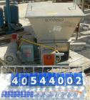 Used- Acrison volumetric feeder, model 105ZW, 304 stainless steel. 1-3/4