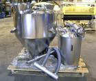 Unused- AZO Feeding System consisting of: (1) AZO hopper, model D1104-2X500-65-A22R, 304 stainless steel, approximately 44