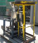 Used- Control and Metering Volumetric Feeder, Model H32M/DS-52-150L, 304 Stainless Steel. Conditioning hopper 20