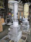 Used- Schenk Accurate Volumetric Feeder, Type, MOD602M. Stainless steel screw and spout, 2.25
