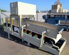 Used- Thayer Scale M Series Low Density Weigh Belt Feeder, Model M-36T. Capacity 4000 pounds an hour. Approximate 36