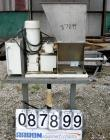 USED: Vibra Screw volumetric feeder, 304 stainless steel. Approximate 1-3/4