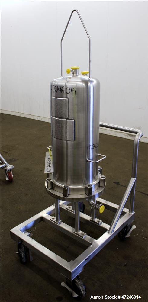 Used- Allegheny Bradford Corp Filter Housing, Model FH128400, 316L Stainless Ste