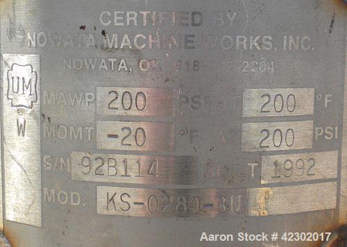 Used- Stainless Steel Balston Filter Product Cartridge Filter, Model KS-0280-3