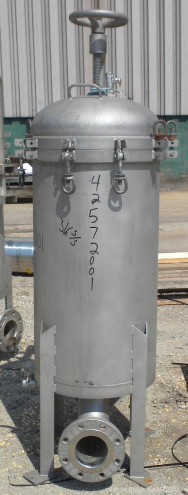 Used- Stainless Steel Commercial Filter Corporation Cartridge Filter