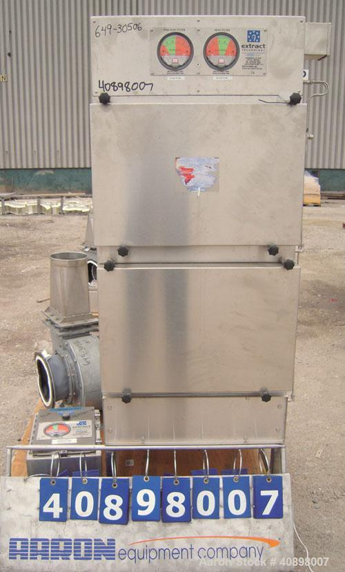 Used- Stainless Steel Extract Technology HEPA Filter