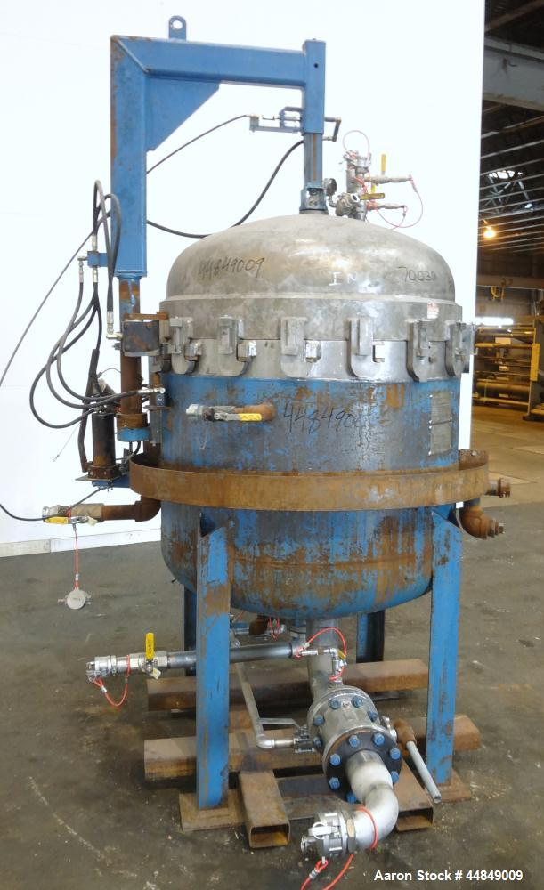 Used- Filter Specialist Inc. FSI Multi-Bag Liquid Filter Vessel, 79.2 Square Feet Surface Area, 3600 Gallons Per Minute Flow...