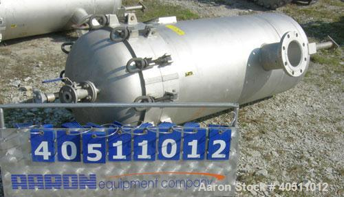 "Used- Filterite Cartridge Filter, Model 935563, type 220MSO4-316L-6FOLD-C150, 316L stainless steel.  Approximately 24"" diame..."
