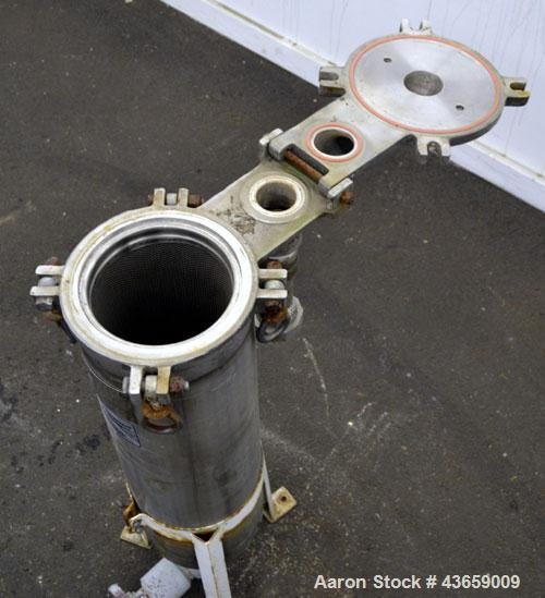 Used- Stainless Steel Filtration Systems Mesh Basket Filter