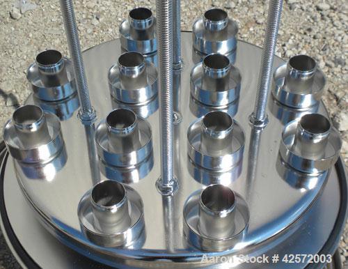 Used- Stainless Steel Gelman Sciences Cartridge Filter, Model 961483