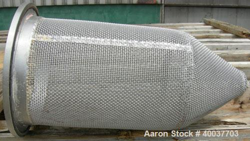 Used- Stainless Steel Mechanical Filtration Basket Strainer Filter