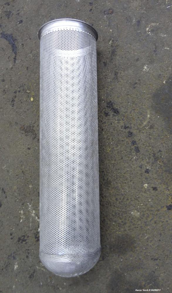 Used- Stainless Steel Mechanical Manufacturing Filter, Model CF8M