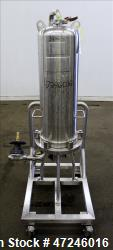 Used- Allegheny Bradford Corp Filter Housing, Volume 45 liter, 316 Stainless Ste