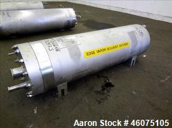 "Used- Johansing Iron Works Pressure Cartridge Filter, 304 Stainless Steel. 7"" Diameter x 24"" long chamber. Vessel rated 600 ..."
