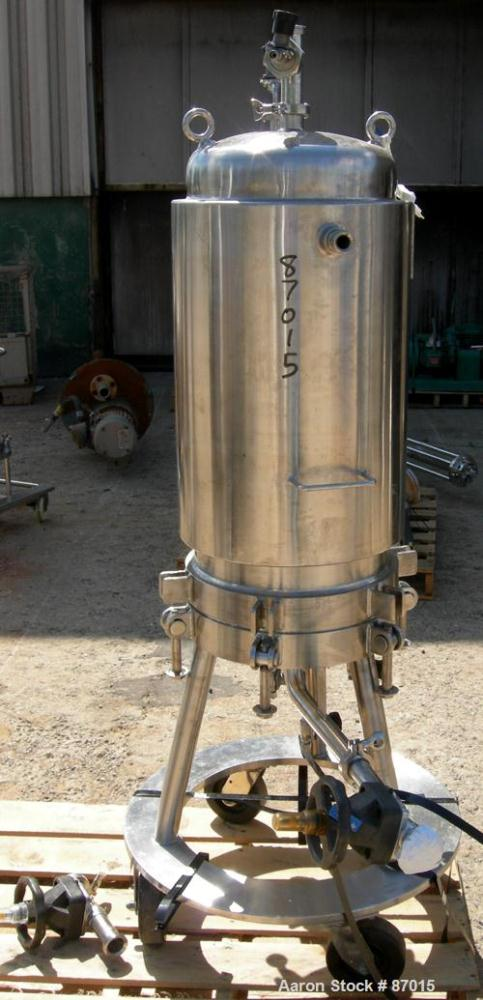 Used- Stainless Steel Millipore Jacketed Cartridge Filter, Model CESH23080