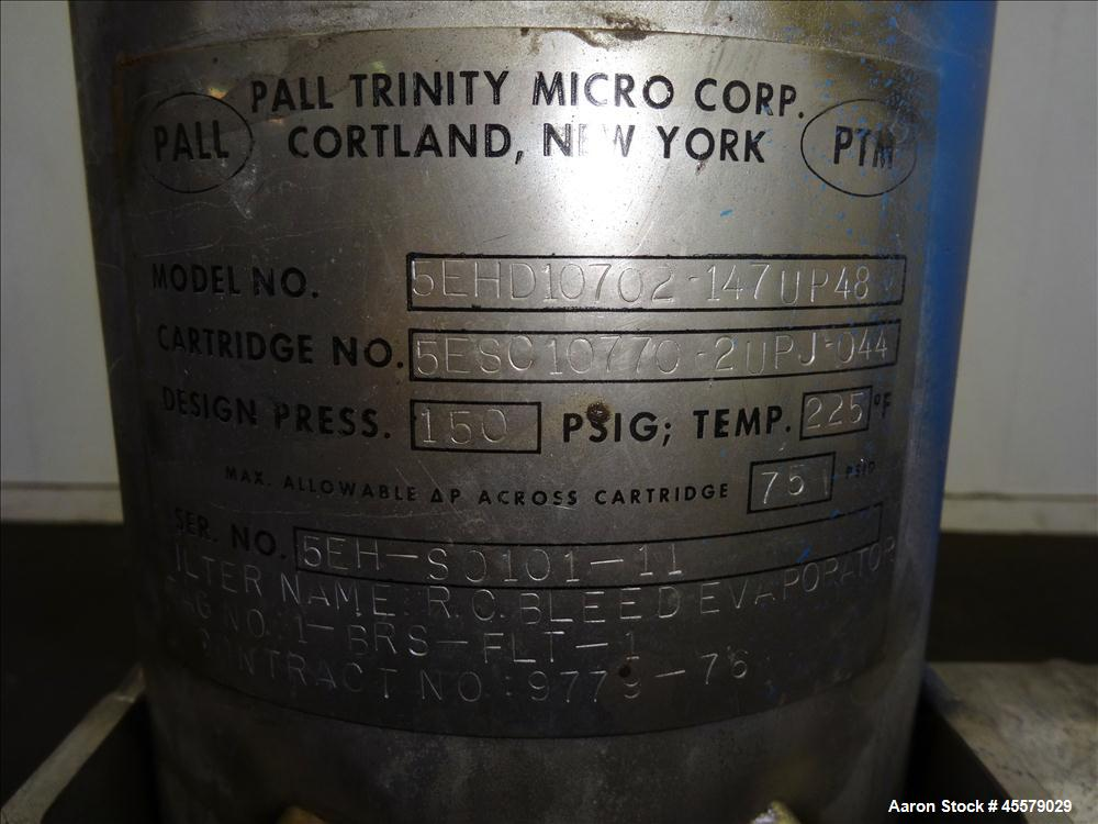 Unused- Pall Trinity Micro Corp, Cartridge Filter