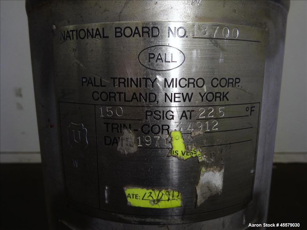 Unused- Pall Trinity Micro Corp, Cartridge Filter
