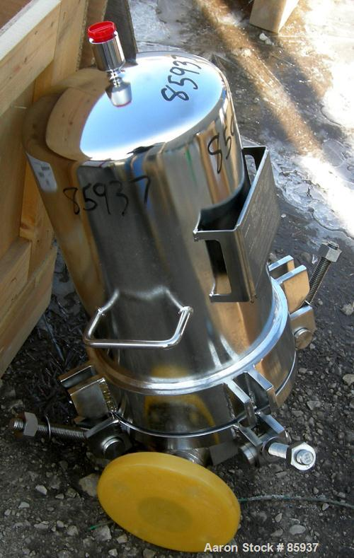 Stainless Steel Pall Cartridge Filter Housing, Model ALTA41G52409