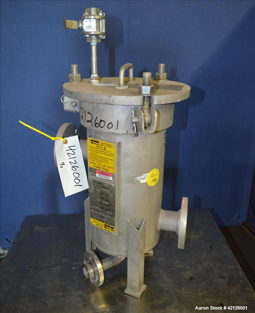 Used- Parker/Fulflo Cartridge Filter, Model 35569-C276-SF6-1-2F