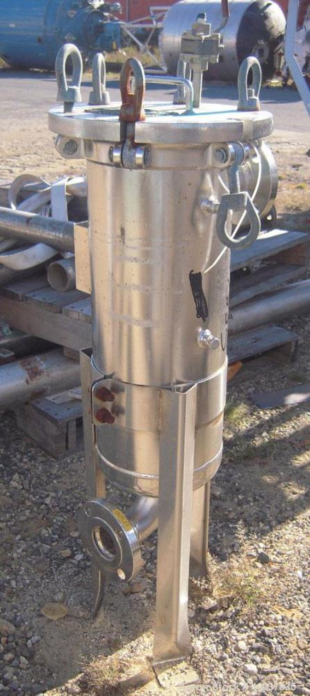 Used- Rosedale ProductsMesh Basket Filter,Model8152F3150S316-C, 316 stainless steel.2.3 square feet, rated up to 220 gal...