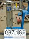 USED: Rosedale mesh basket filter, model 8302#125SBB, 304 stainless steel. Approximate 4.4 square feet filter area. 8-1/2